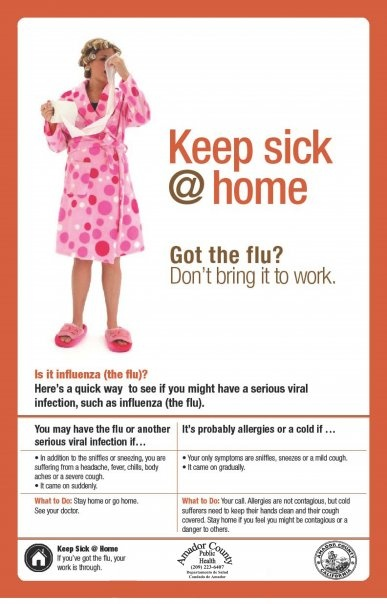 Stay Home if You're Sick