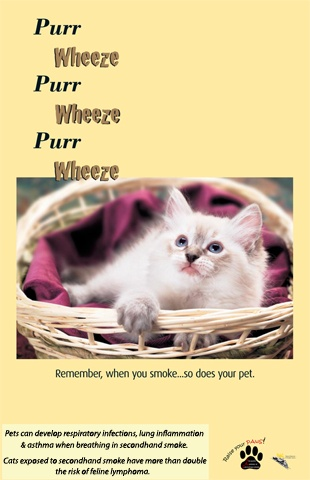 PurrWheeze Poster