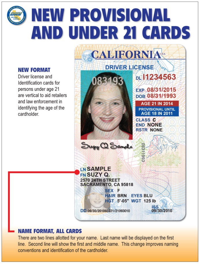 New Underage License
