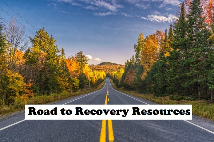 Road_to Recovery Resources label